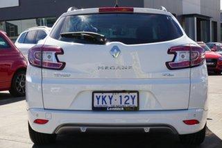 2015 Renault Megane III K95 Phase 2 GT-Line Sportwagon EDC White 6 Speed
