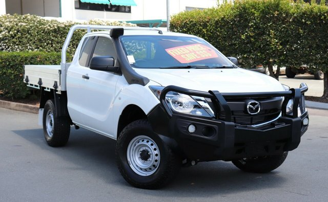 Used Mazda BT-50 UR0YG1 XT Freestyle, 2017 Mazda BT-50 UR0YG1 XT Freestyle 6 Speed Sports Automatic Cab Chassis