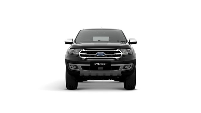 New Ford Everest UA II 2019.00MY Titanium 4WD, 2019 Ford Everest UA II 2019.00MY Titanium 4WD Shadow Black 10 Speed Sports Automatic Wagon