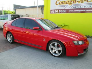 2003 Holden Special Vehicles Clubsport Y Red 4 Speed Automatic Sedan.