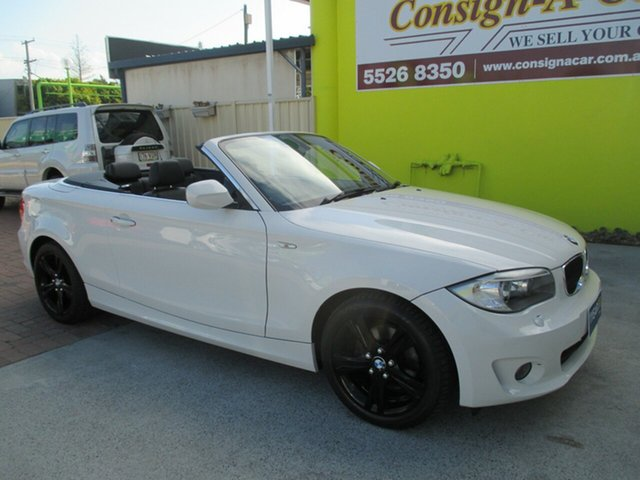 Used BMW 125i E88 MY11 , 2011 BMW 125i E88 MY11 White 6 Speed Automatic Convertible