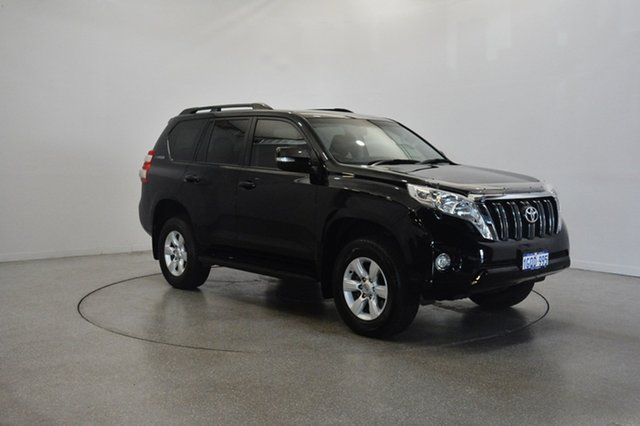 Used Toyota Landcruiser Prado KDJ150R MY14 GXL, 2015 Toyota Landcruiser Prado KDJ150R MY14 GXL Black 5 Speed Sports Automatic Wagon