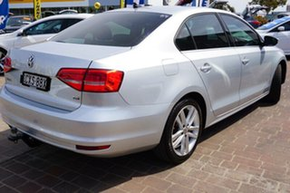2015 Volkswagen Jetta 1B MY15 118TSI DSG Highline Silver 7 Speed Sports Automatic Dual Clutch Sedan