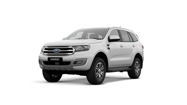 New Ford Everest UA II 2019.75MY Trend RWD, 2019 Ford Everest UA II 2019.75MY Trend RWD Arctic White 10 Speed Sports Automatic Wagon