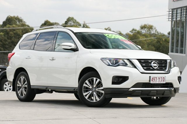Demo Nissan Pathfinder R52 Series II MY17 ST X-tronic 2WD, 2018 Nissan Pathfinder R52 Series II MY17 ST X-tronic 2WD Shiro White 1 Speed Constant Variable