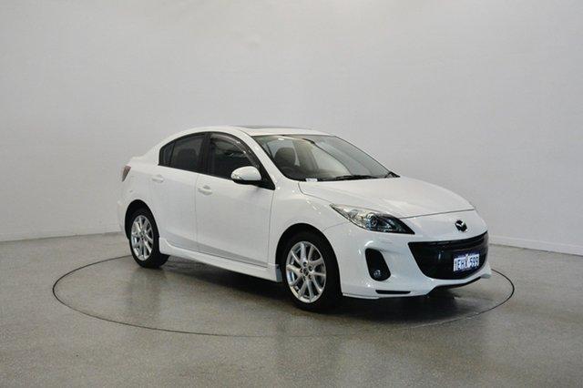 Used Mazda 3 BL10L2 MY13 SP25, 2013 Mazda 3 BL10L2 MY13 SP25 White 6 Speed Manual Sedan