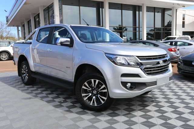 Used Holden Colorado RG MY18 LTZ Pickup Crew Cab, 2018 Holden Colorado RG MY18 LTZ Pickup Crew Cab Nitrate 6 Speed Sports Automatic Utility