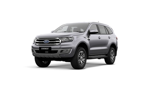 New Ford Everest UA II 2019.00MY Trend 4WD, 2019 Ford Everest UA II 2019.00MY Trend 4WD Aluminium 10 Speed Sports Automatic Wagon