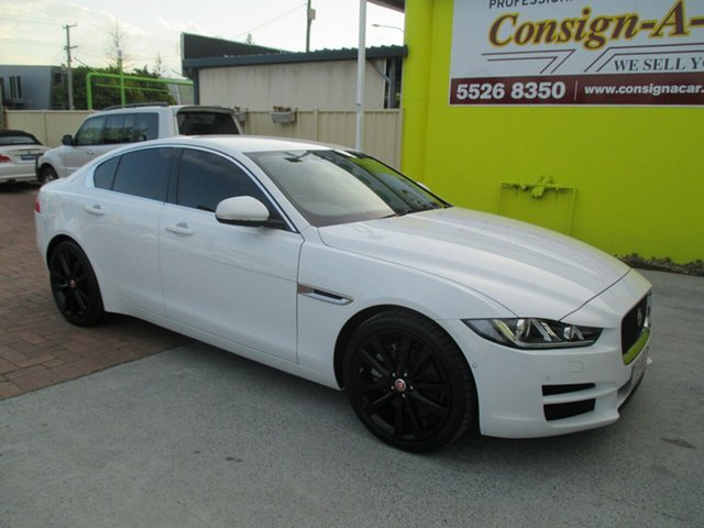 Used Jaguar XE X760 MY17 20T Prestige, 2016 Jaguar XE X760 MY17 20T Prestige White 8 Speed Sports Automatic Sedan