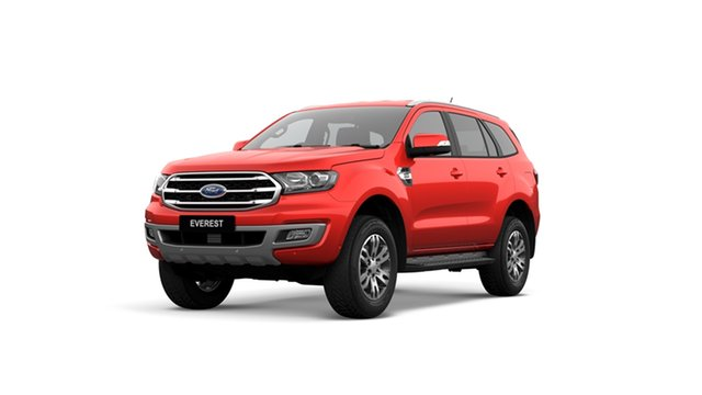 New Ford Everest UA II 2019.75MY Trend 4WD, 2019 Ford Everest UA II 2019.75MY Trend 4WD Red 10 Speed Sports Automatic Wagon
