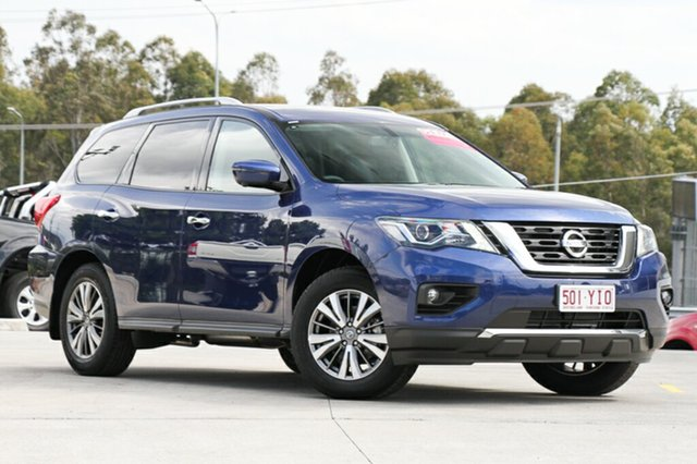 Demo Nissan Pathfinder R52 Series II MY17 ST-L X-tronic 2WD, 2017 Nissan Pathfinder R52 Series II MY17 ST-L X-tronic 2WD Blue 1 Speed Constant Variable Wagon