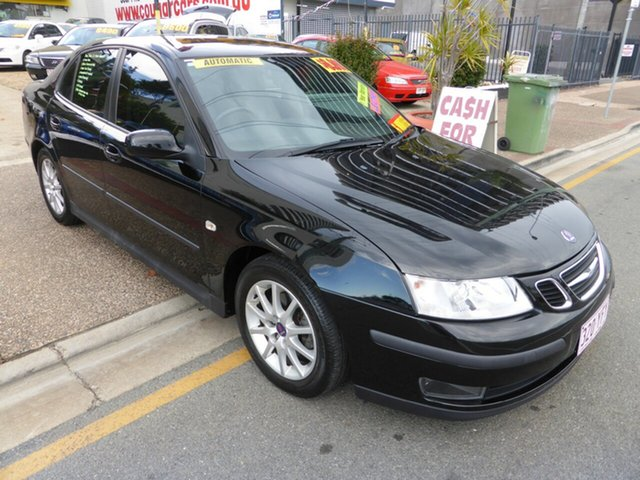 Used Saab 9-3 MY06 ARC 2.0T, 2006 Saab 9-3 MY06 ARC 2.0T Black 5 Speed Automatic Sedan