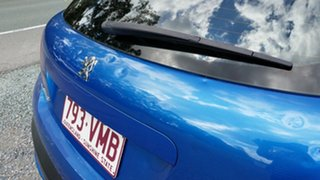 2007 Peugeot 207 A7 XT Blue 4 Speed Sports Automatic Hatchback