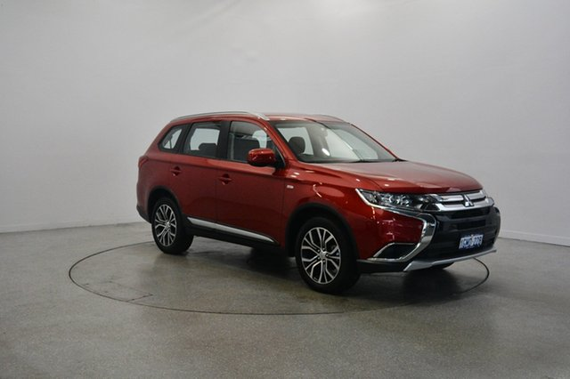 Used Mitsubishi Outlander ZL MY18.5 ES AWD, 2017 Mitsubishi Outlander ZL MY18.5 ES AWD Red 6 Speed Constant Variable Wagon