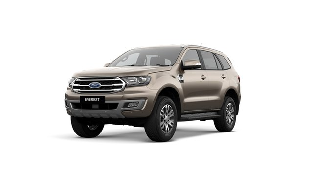 New Ford Everest UA II 2019.75MY Trend 4WD, 2019 Ford Everest UA II 2019.75MY Trend 4WD Diffused Silver 10 Speed Sports Automatic SUV