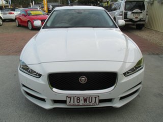 2016 Jaguar XE X760 MY17 20T Prestige White 8 Speed Sports Automatic Sedan