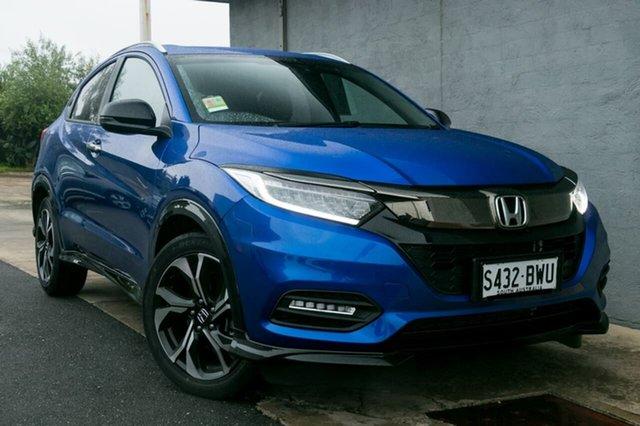 Demo Honda HR-V MY18 RS, 2018 Honda HR-V MY18 RS Brilliant Sporty Blue 1 Speed Constant Variable Hatchback