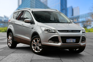 2013 Ford Kuga TF Trend AWD Silver 6 Speed Sports Automatic Wagon.