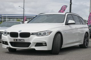 2015 BMW 328i F31 MY1114 M Sport Touring Black 8 Speed Sports Automatic Wagon.