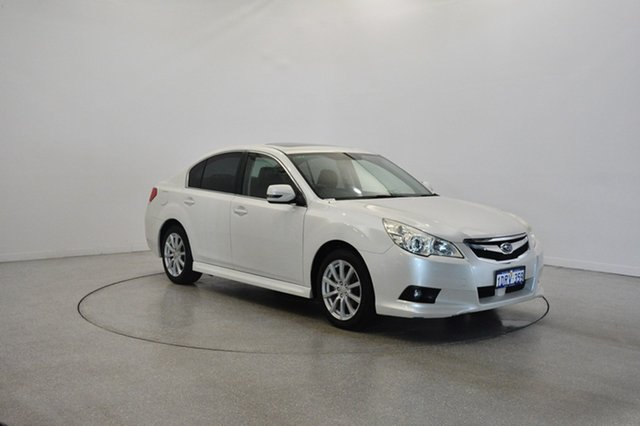 Used Subaru Liberty B5 MY11 2.5i Lineartronic AWD Premium, 2011 Subaru Liberty B5 MY11 2.5i Lineartronic AWD Premium White 6 Speed Constant Variable Sedan