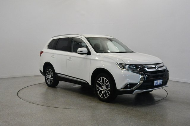 Used Mitsubishi Outlander ZL MY18.5 LS AWD, 2018 Mitsubishi Outlander ZL MY18.5 LS AWD White 6 Speed Constant Variable Wagon
