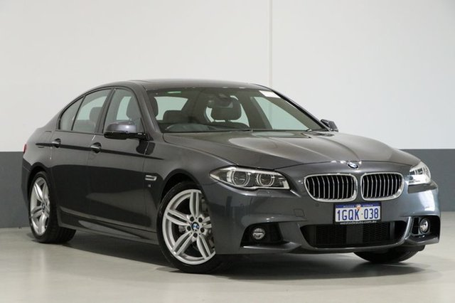 Used BMW 528i F10 LCI M Sport Steptronic, 2015 BMW 528i F10 LCI M Sport Steptronic Mineral Grey 8 Speed Sports Automatic Sedan