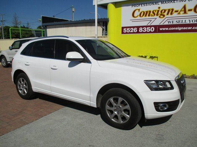 Used Audi Q5 8R MY10 TFSI S tronic quattro, 2010 Audi Q5 8R MY10 TFSI S tronic quattro White 7 Speed Sports Automatic Dual Clutch Wagon