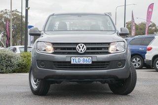 2016 Volkswagen Amarok 2H MY16 TDI420 4x2 Natural Grey 8 Speed Automatic Utility.