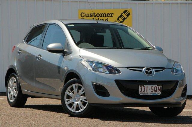 Used Mazda 2 DE10Y2 MY12 Neo, 2012 Mazda 2 DE10Y2 MY12 Neo Silver 4 Speed Automatic Hatchback