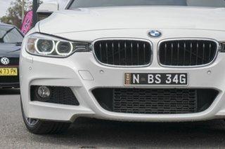 2015 BMW 328i F31 MY1114 M Sport Touring Black 8 Speed Sports Automatic Wagon