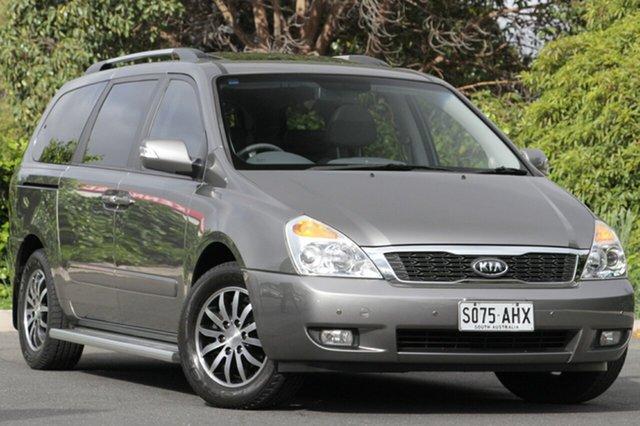 Used Kia Grand Carnival VQ MY11 Platinum, 2010 Kia Grand Carnival VQ MY11 Platinum Silver 6 Speed Sports Automatic Wagon