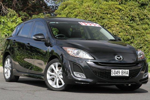 Used Mazda 3 BL10L1 MY10 SP25 Activematic, 2010 Mazda 3 BL10L1 MY10 SP25 Activematic Black 5 Speed Sports Automatic Hatchback