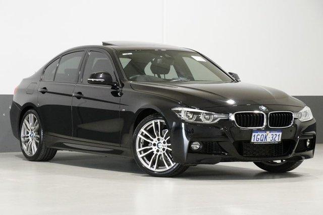 Used BMW 318i F30 LCI MY17 M Sport, 2017 BMW 318i F30 LCI MY17 M Sport Black 8 Speed Automatic Sedan