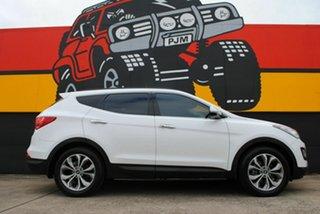 2014 Hyundai Santa Fe DM2 MY15 Highlander Winter White 6 Speed Sports Automatic Wagon.