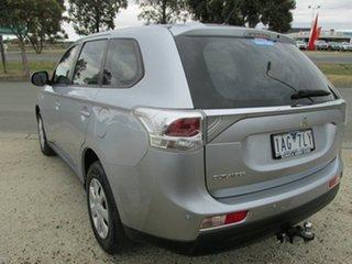 2013 Mitsubishi Outlander ZJ MY13 ES 2WD Silver 6 Speed Constant Variable Wagon