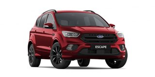 2019 Ford Escape ZG 2019.75MY ST-Line AWD Red 6 Speed Sports Automatic Wagon.
