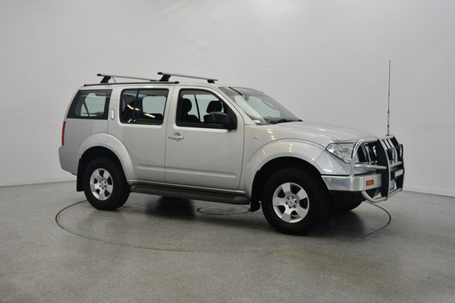 Used Nissan Pathfinder R51 MY08 ST, 2010 Nissan Pathfinder R51 MY08 ST Silver 5 Speed Sports Automatic Wagon