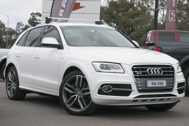 Used Audi SQ5 8R MY13 TDI Tiptronic Quattro, 2013 Audi SQ5 8R MY13 TDI Tiptronic Quattro White 8 Speed Sports Automatic Wagon