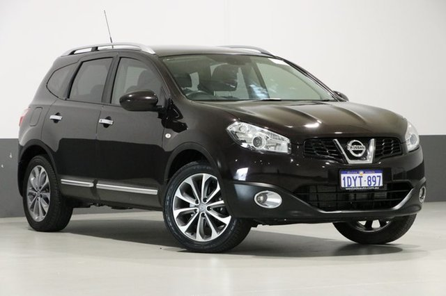 Used Nissan Dualis J10 Series 3 +2 TI (4x2), 2012 Nissan Dualis J10 Series 3 +2 TI (4x2) Grey 6 Speed CVT Auto Sequential Wagon