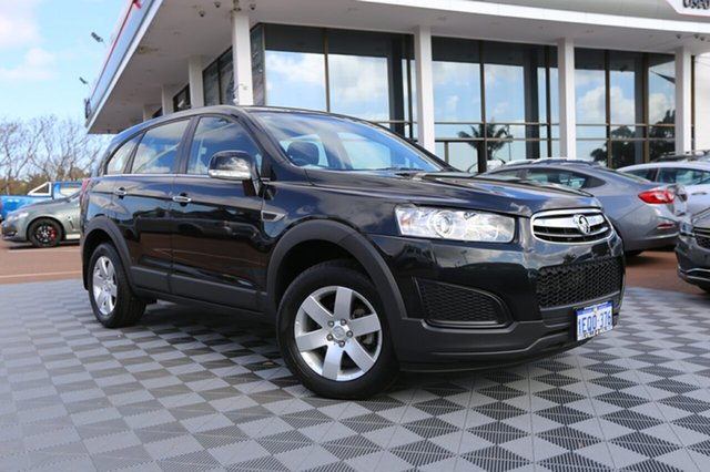Used Holden Captiva CG MY15 7 LS, 2014 Holden Captiva CG MY15 7 LS Carbon Flash Black 6 Speed Sports Automatic Wagon