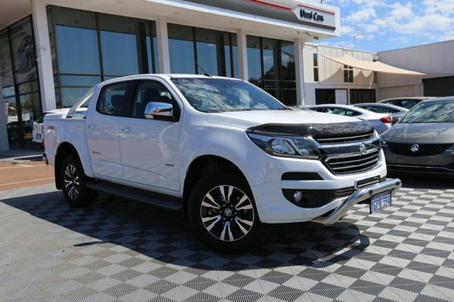 Used Holden Colorado RG MY18 Storm Pickup Crew Cab, 2017 Holden Colorado RG MY18 Storm Pickup Crew Cab Summit White 6 Speed Sports Automatic Utility