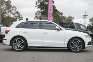 2013 Audi SQ5 8R MY13 TDI Tiptronic Quattro White 8 Speed Sports Automatic Wagon