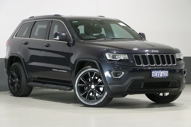 Used Jeep Grand Cherokee WK MY14 Laredo (4x2), 2014 Jeep Grand Cherokee WK MY14 Laredo (4x2) Graphite 8 Speed Automatic Wagon