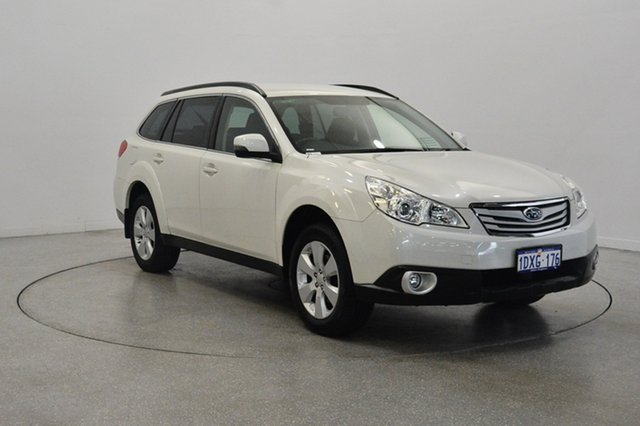 Used Subaru Outback B5A MY12 2.5i Lineartronic AWD, 2012 Subaru Outback B5A MY12 2.5i Lineartronic AWD White 6 Speed Constant Variable Wagon