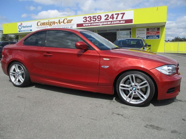 Used BMW 135i E82 MY10 Sport Steptronic, 2009 BMW 135i E82 MY10 Sport Steptronic Red 6 Speed Sports Automatic Coupe