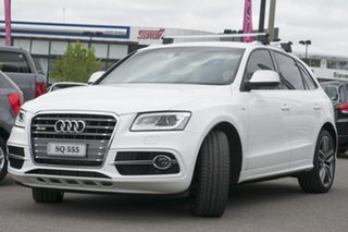 2013 Audi SQ5 8R MY13 TDI Tiptronic Quattro White 8 Speed Sports Automatic Wagon.