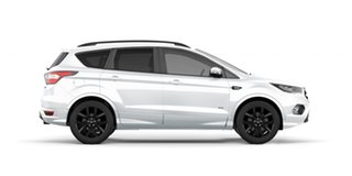 2019 Ford Escape ZG 2019.25MY ST-Line AWD Frozen White 6 Speed Sports Automatic Wagon.