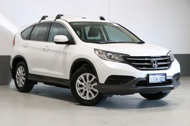 Used Honda CR-V 30 VTi (4x2), 2013 Honda CR-V 30 VTi (4x2) White 6 Speed Manual Wagon