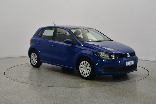Used Volkswagen Polo 6R MY13 77TSI DSG Comfortline, 2012 Volkswagen Polo 6R MY13 77TSI DSG Comfortline Ocean Blue 7 Speed Sports Automatic Dual Clutch