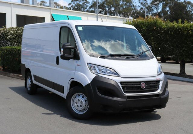 Demo Fiat Ducato Series 6 (MY17) MWB/Low, 2018 Fiat Ducato Series 6 (MY17) MWB/Low White 6 Speed Automatic Van